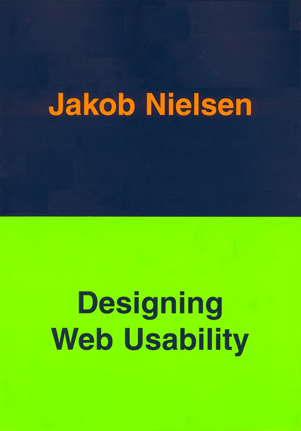 Designing Web Usability book cover