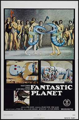 Fantastic Planet movie cover