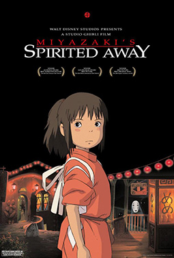 Spirited Away movie cover