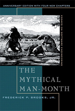 The Mythical Man Month book cover